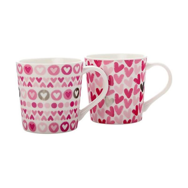 Maxwell & Williams Set of 2 Heart Mug