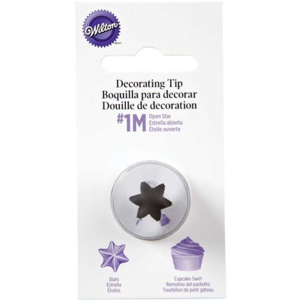 Wilton (1M) OPEN STAR PIPING TIP