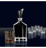 Nachtmann Nachtmann Whisky Set with Decanter and 6 Glasses, Crystal, 750 ml/324 ml