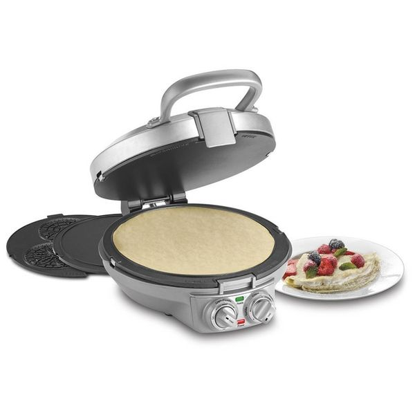 Machine à crêpe et pizzelle Chef international de Cuisinart