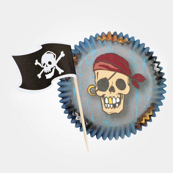 Caissettes pirate Wilton