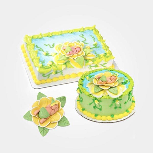 """Décoration de gâteau """"Bébé"""" Vincent Variété"""