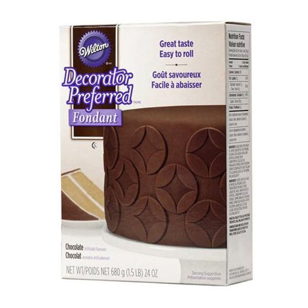Fondant chocolat de Wilton