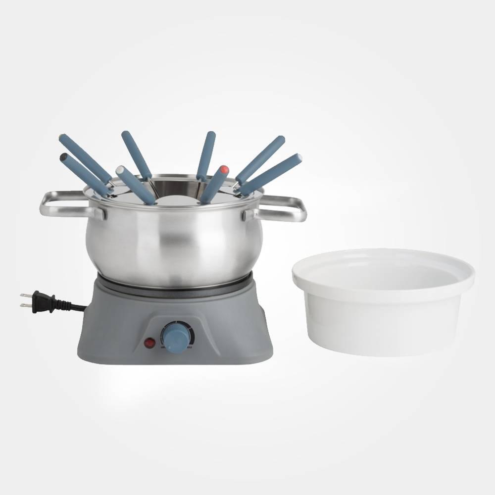Ensemble fondue lectrique 3 en 1 pillar trudeau for Ares accessoire de cuisine