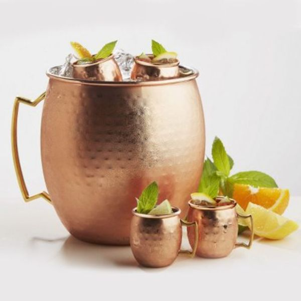 Hammered Giant Ice Bucket Mug by Brilliant