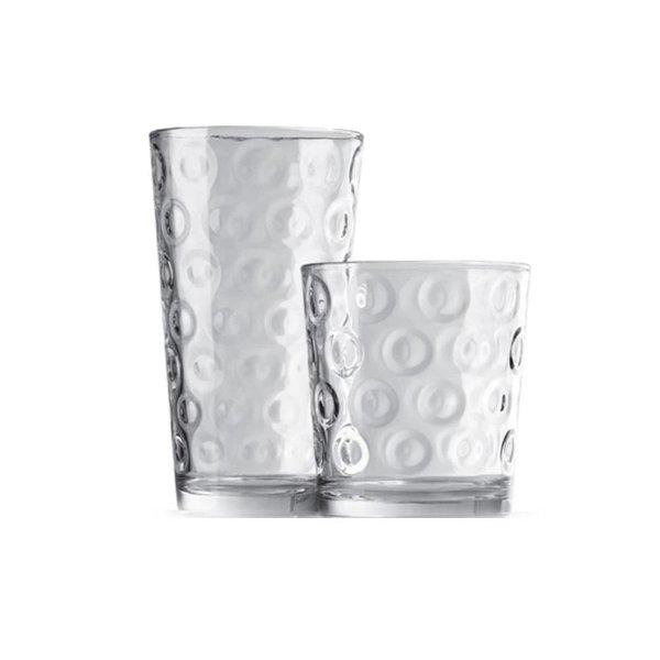 """Ensemble de 12 verres """"Rings""""  de Pasabahce"""