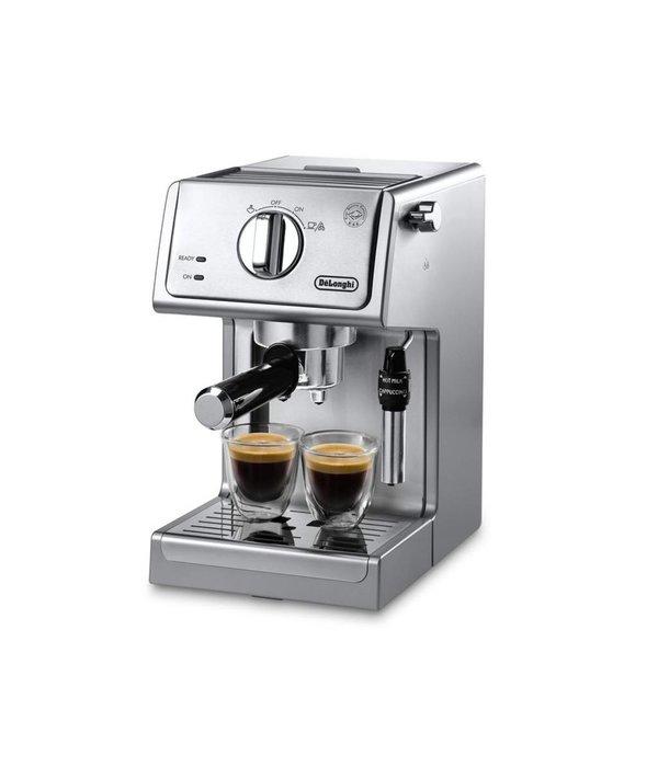 Delonghi Coffee Maker Guide : DELONGHI MANUAL ESPRESSO MACHINE, CAPPUCCINO MAKER - KITCHEN SUPPLIES AND ACCESSORIES - Ares Cuisine