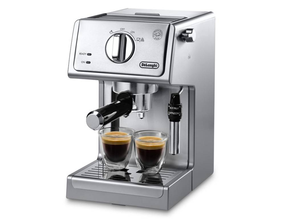 Delonghi Coffee Maker Yellow Light : DELONGHI MANUAL ESPRESSO MACHINE, CAPPUCCINO MAKER - KITCHEN SUPPLIES AND ACCESSORIES - Ares Cuisine