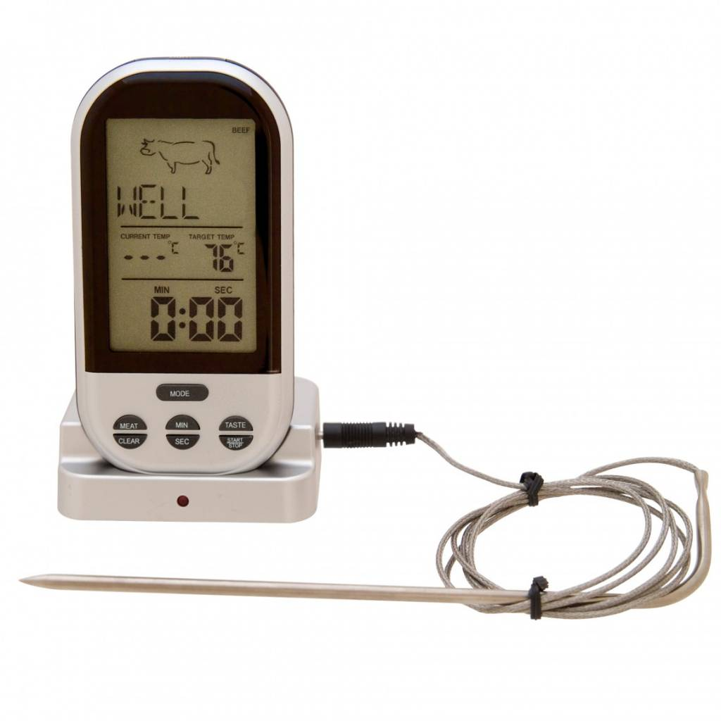 Bios wireless pre programmed thermometer ares cuisine for Ares cuisine centre laval