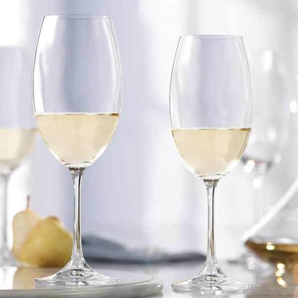 Set of 4 White Wine Glasses by Mann