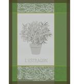 "Garnier-Thiebaut Linge à vaisselle ""L'Estragon"" de Garnier-Thiebaut"