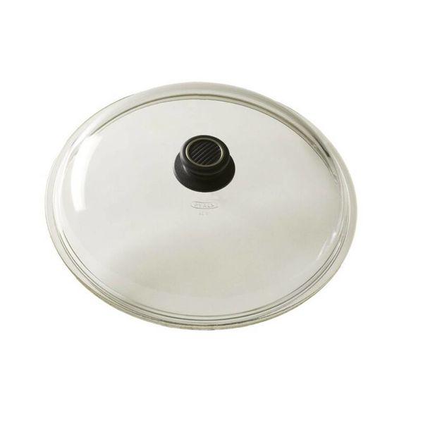 COUVERCLE EN VERRE DE GASTROLUX 30 CM pour wok