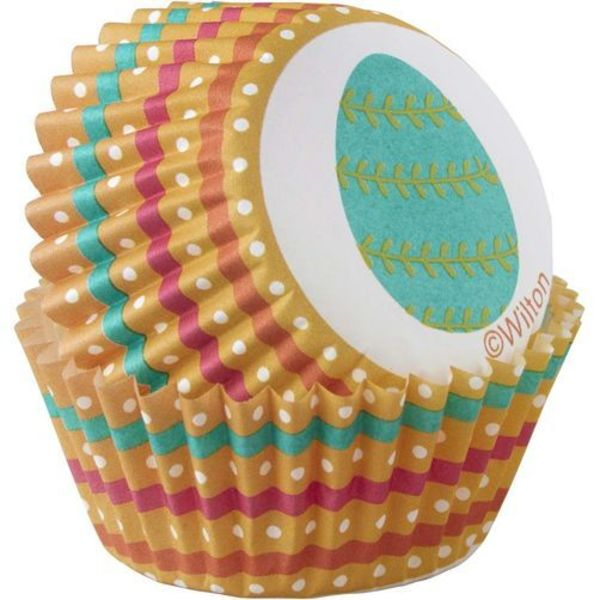 Wilton Easter Egg Mini Cupcake Liners
