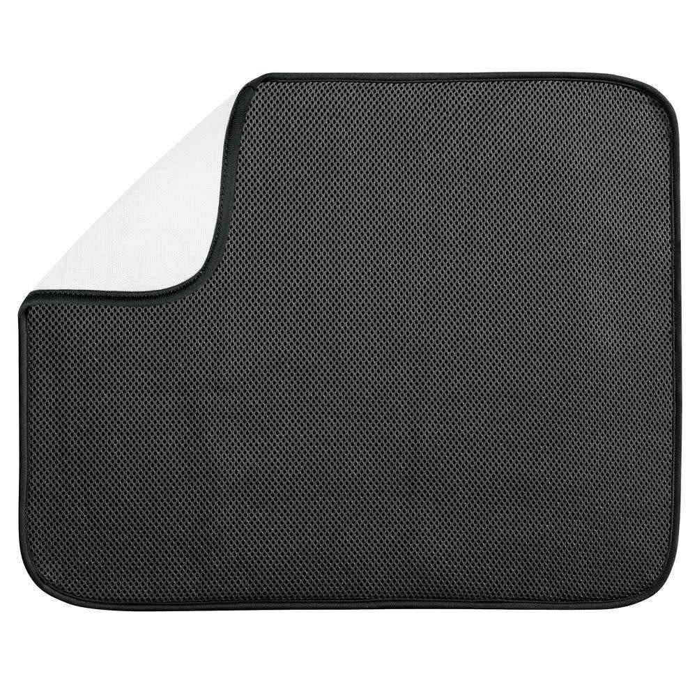 interdesign tapis de cuisine idry noir blanc grand format de interdesign ares cuisine. Black Bedroom Furniture Sets. Home Design Ideas