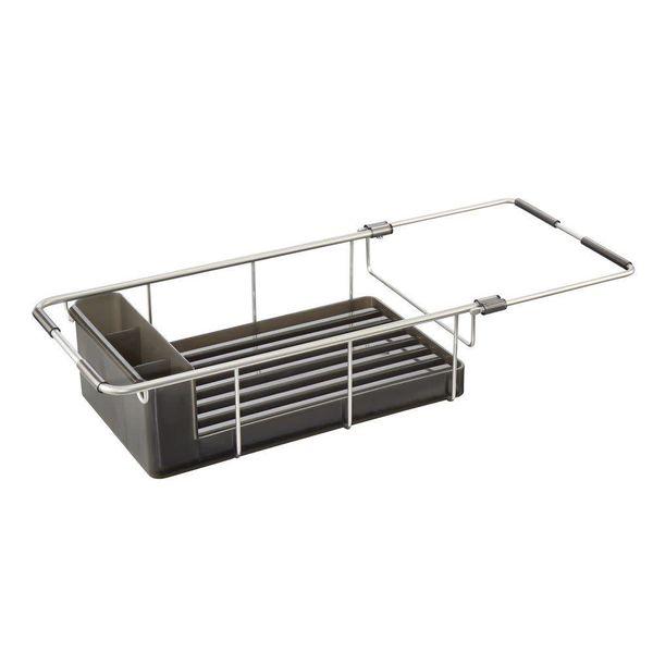 InterDesign Metro Aluminum Over Sink Dish Drainer