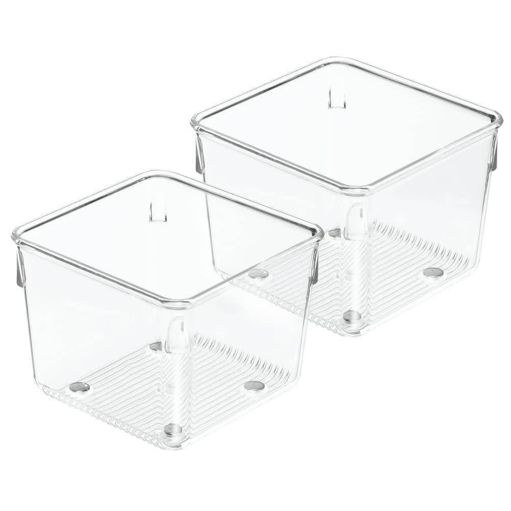 organisateur grand tiroir linus 4 carr de interdesign ares cuisine. Black Bedroom Furniture Sets. Home Design Ideas
