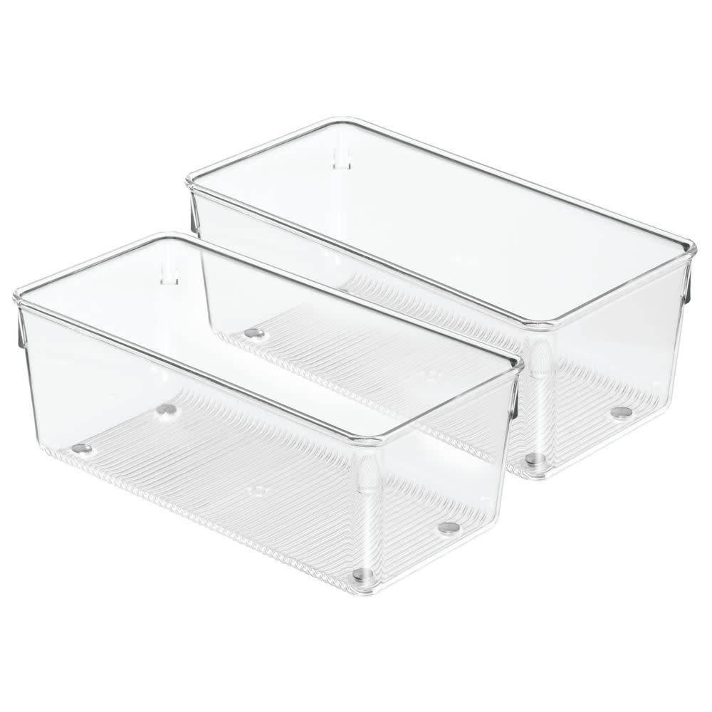 Interdesign organisateur grand tiroir linus 8 long de - Organisateur tiroir cuisine ...