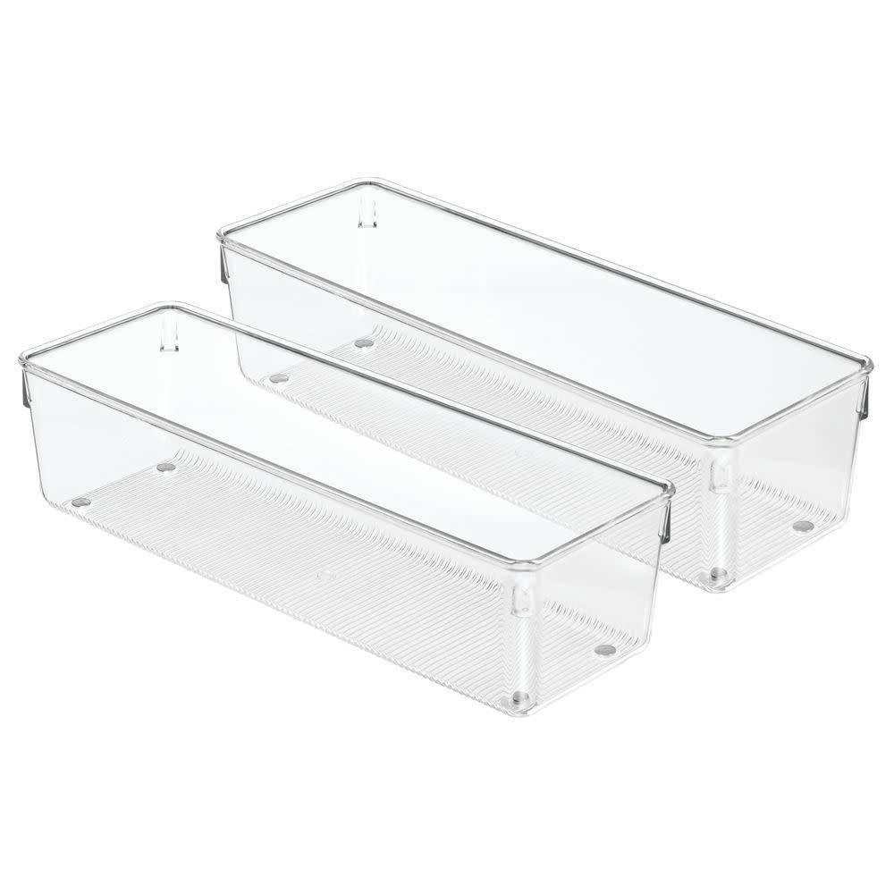 interdesign organisateur grand tiroir linus 12 long de. Black Bedroom Furniture Sets. Home Design Ideas