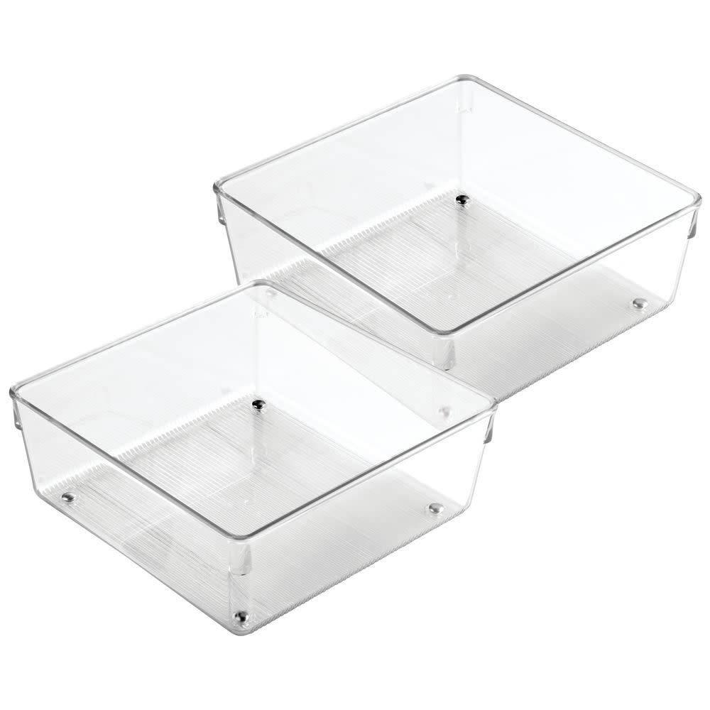 organisateurs grand tiroir 8 carr linus de interdesign ares cuisine. Black Bedroom Furniture Sets. Home Design Ideas