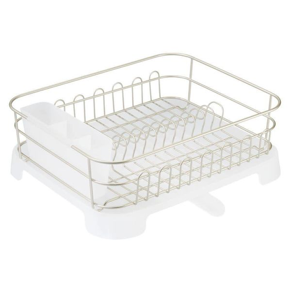 InterDesign Classico Dish Drainer with Swivel Spout