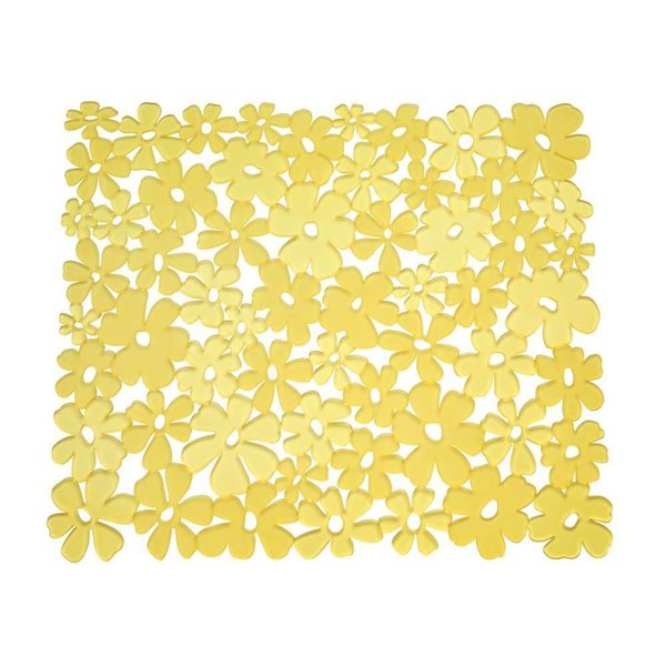 Accessoires lavabo ares cuisine Petit tapis jaune