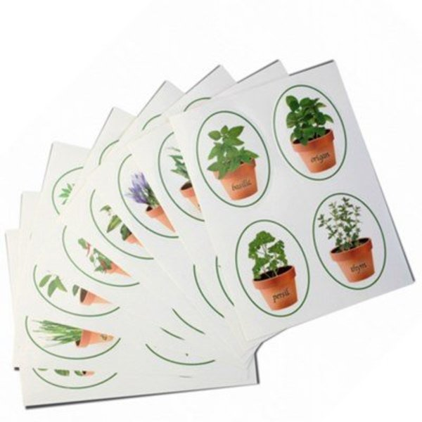 Danesco Herb & Spice Bottle Labels