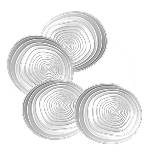 Set of 4 Appetizer Plates by BIA