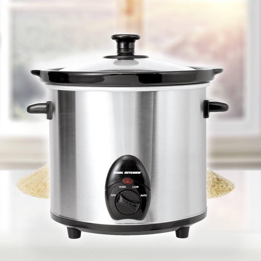 Mijoteuse en acier inoxydable de cool kitchen pro ares for Acier inoxydable cuisine