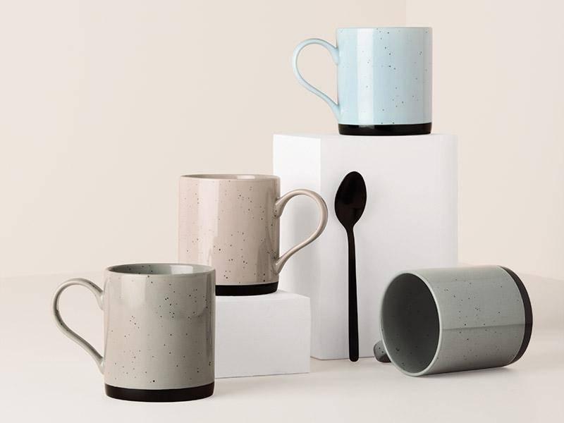 Ensemble de 4 tasses tavelure par maxwell williams for Ares accessoire de cuisine