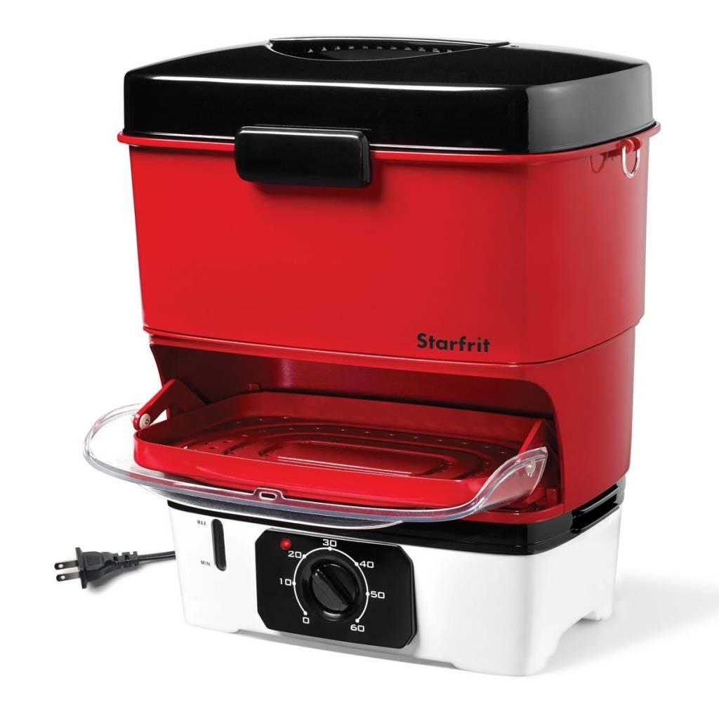 Cuiseur vapeur et hot dogs de starfrit accessoires de for Ares accessoire de cuisine