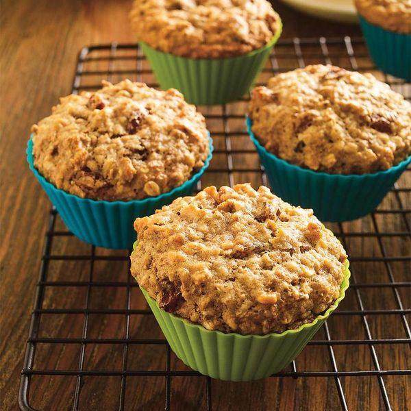 6 Moules à muffins en silicone par Ricardo