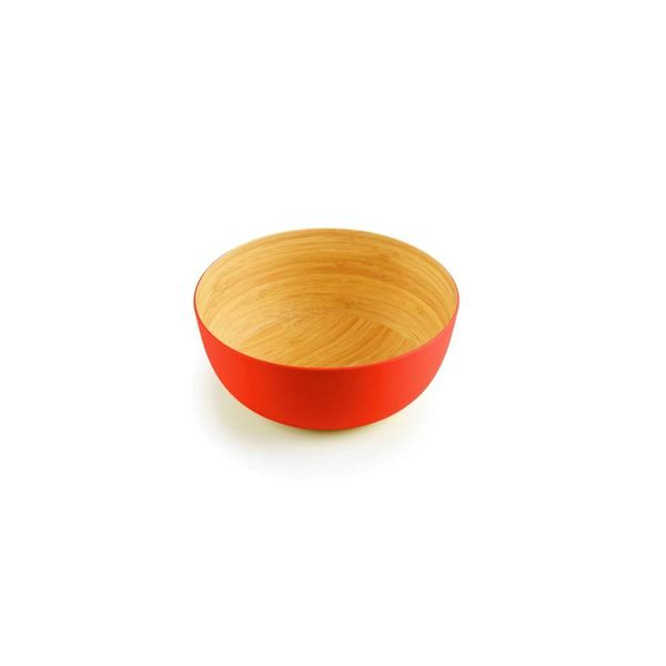 ICM Bamboo Bowl  Papaya