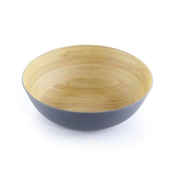 ICM Bamboo Bowl  30cm Grey