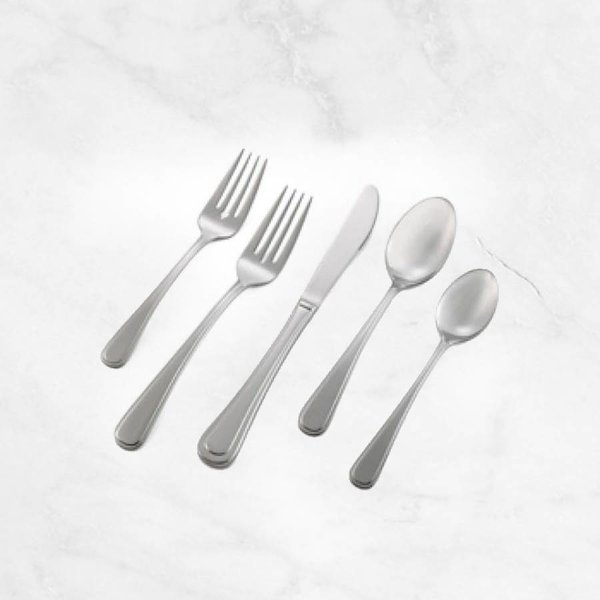 """20PC FLATWARE """"KELBY"""" SET 18/8 STAINLESS STEEL BY MANN"""