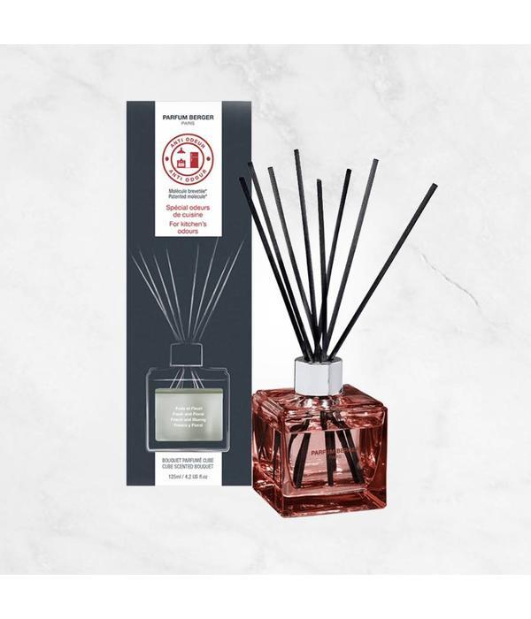 """Bouquet parfumé cube anti odeur de cuisine """"Frais et Fleuri"""" par"""