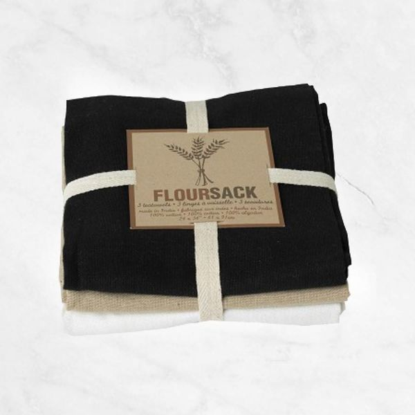 "Now Designs Set of 3 ""Floursack"" Dishcloths"