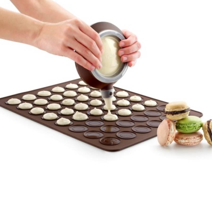 L ku tapis macarons en silicone accessoires de for Article de cuisine ares