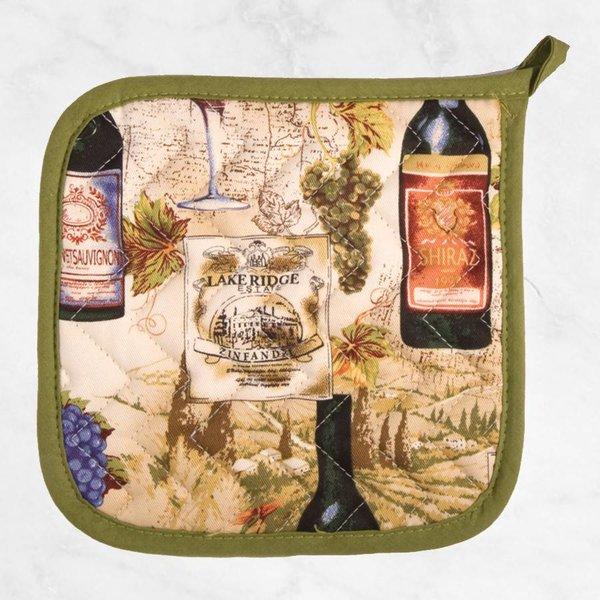 "Now Designs ""Wine Labels"" Potholder"