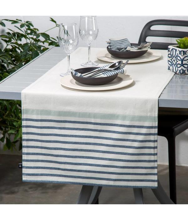 Vis vis chambray rayures bleues par ricardo for Tablier de cuisine ricardo