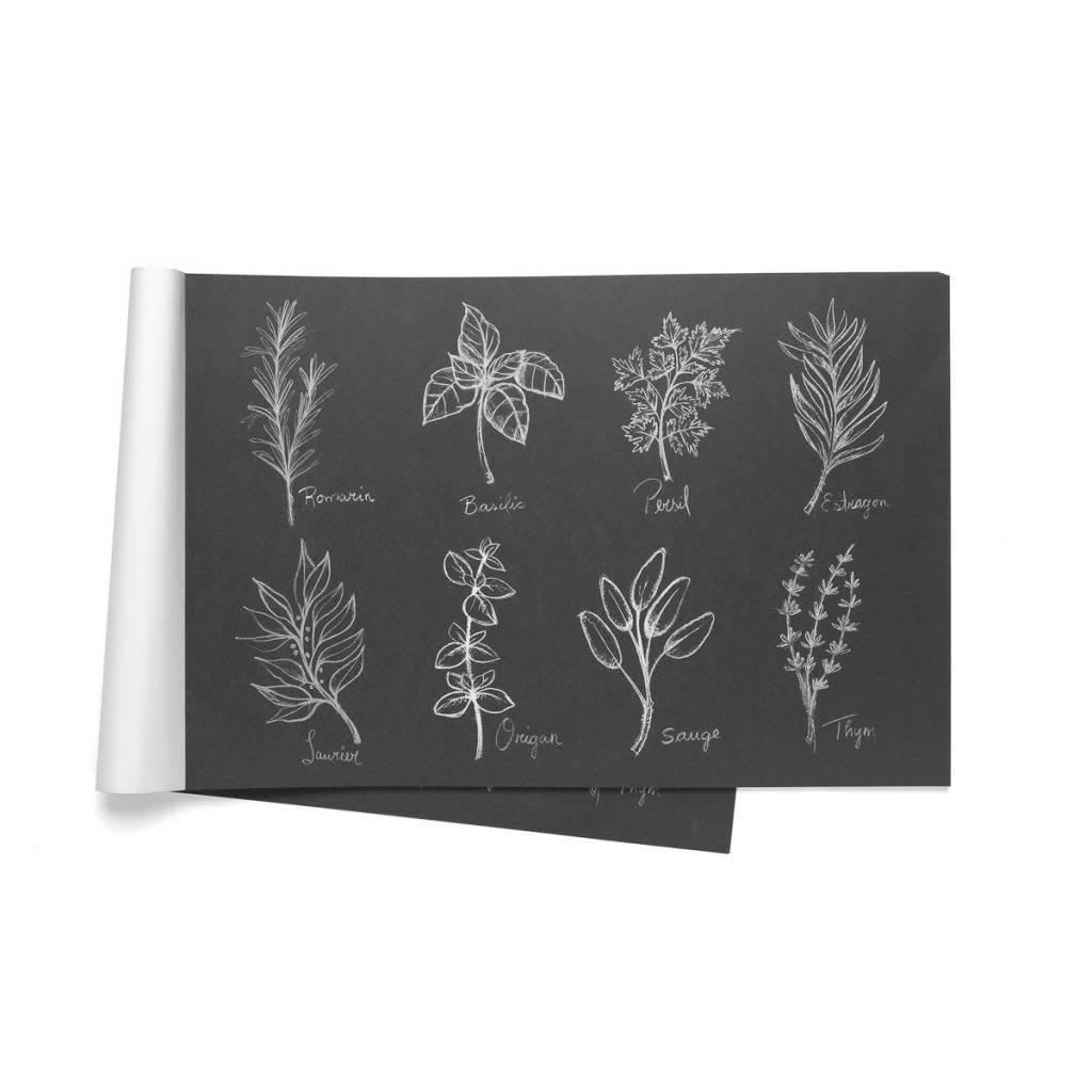 Napperons de papier fines herbes par ricardo for Tablier de cuisine ricardo