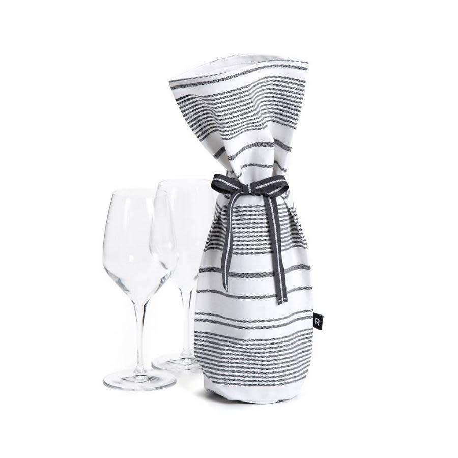 Sac vin blanc rayures noires par ricardo accessoires for Ares accessoires de cuisine
