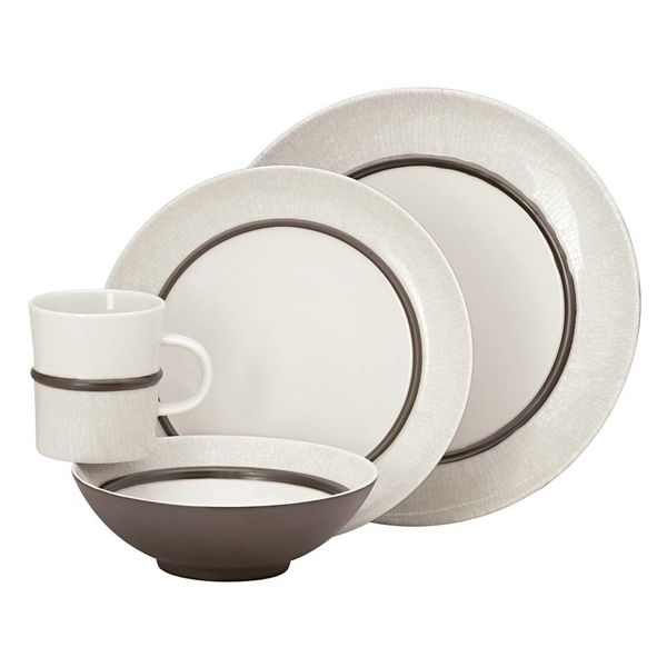 "4-piece ""Lucia"" Dinnerware Set by Dansk"