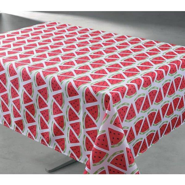 """TexStyles Deco 58"""" x 78"""" Watermelon Tablecloth"""