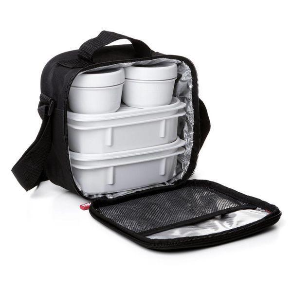Tatay Urban Food Black Lunch Bag