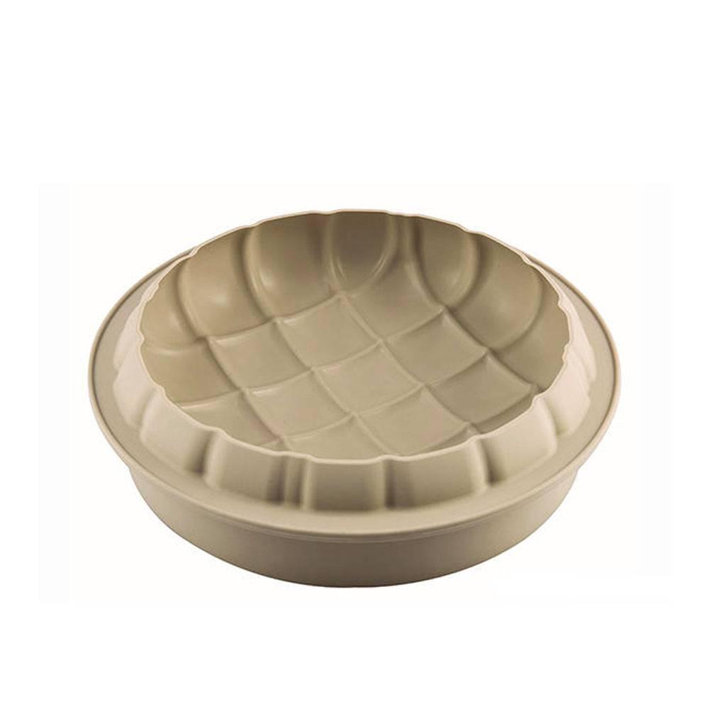 Silikomart moule g teau 3d silicone eleganza p tisserie accessoires de cuisine ares cuisine - Moule a gateau silicone ...