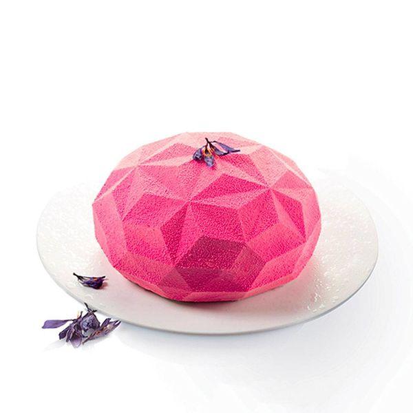 Moule Gâteau 3D Silicone Gemma par Silikomart