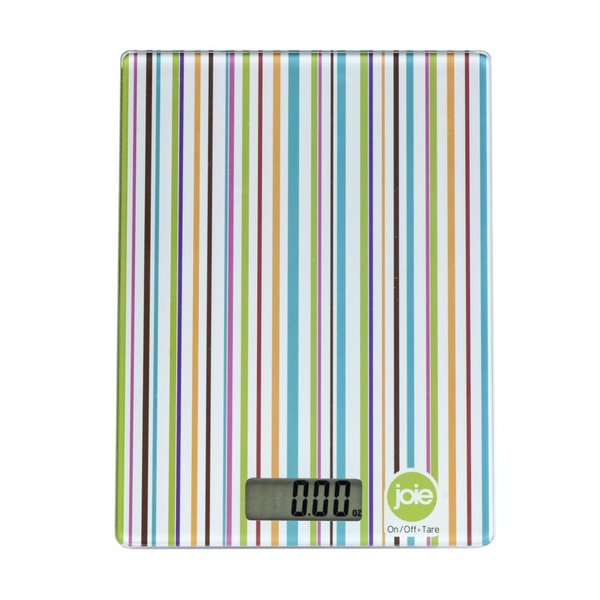 "Joie Digital Kitchen Scale ""Stripes"""
