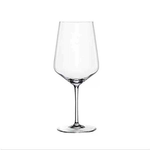 """Spiegelau Set of 4 Red """"Style"""" Wine Glasses"""