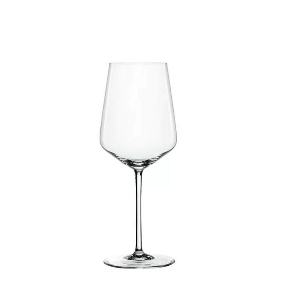 "Spiegelau Set of 4 White ""Style"" Wine Glasses"