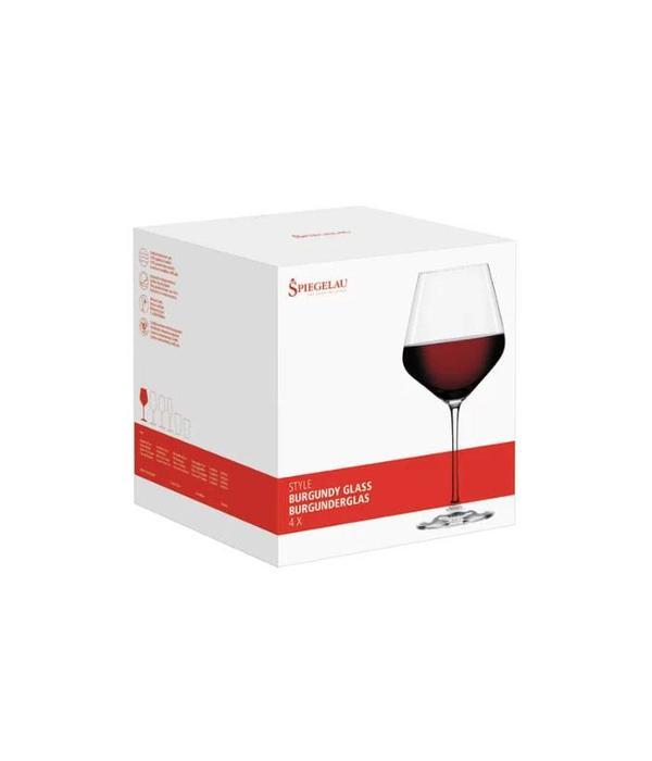"Spiegelau Spiegelau Set of 4 Burgundy ""Style"" Wine Glasses"